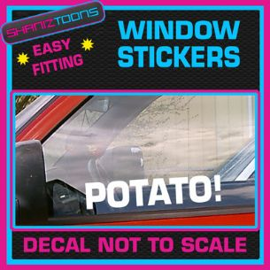 POTATO KEITH LEMON CAR WINDOW VINYL STICKER DECAL GRAPHICS NOVELTY GIFT